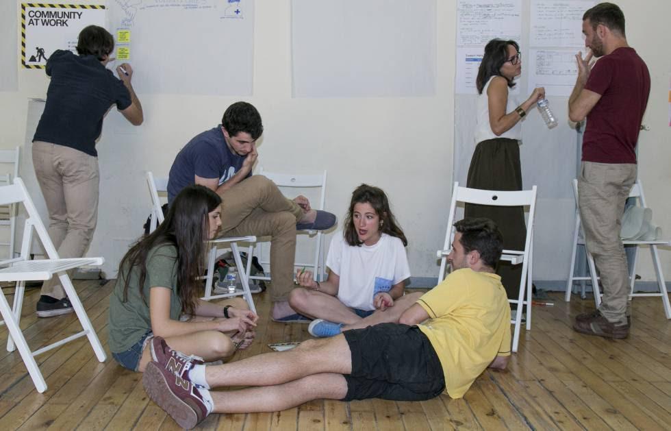 Participantes en Unreasonable Lab durante un momento de las jornadas de este año.