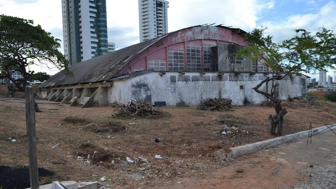 Confira como andam as obras de mobilidade para a Copa em Natal (Foto: Jocaff Souza/GloboEsporte.com)
