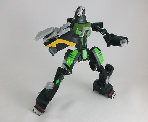 Transformers Lockdown Animated Deluxe - modo robot