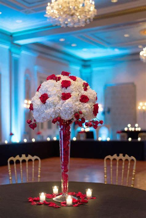 glamorous  orleans wedding wedding centerpieces
