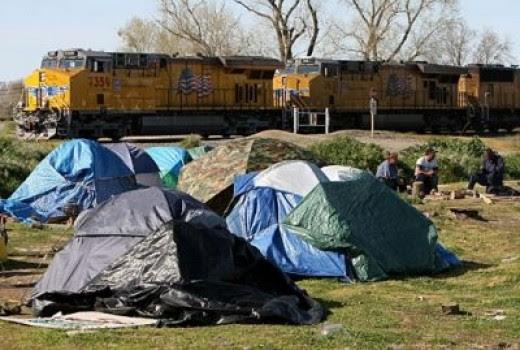 Tent City - Sacremento