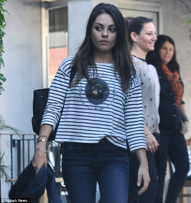 Banned In Uk: Mila Kunis: Body Cream Ad Banned In UK
