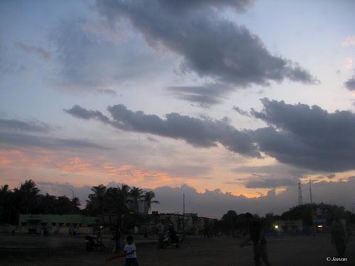 sky near marina