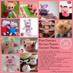 Free Crochet Pattern Friday   Little Pig...Little Pig... Oombawka Design