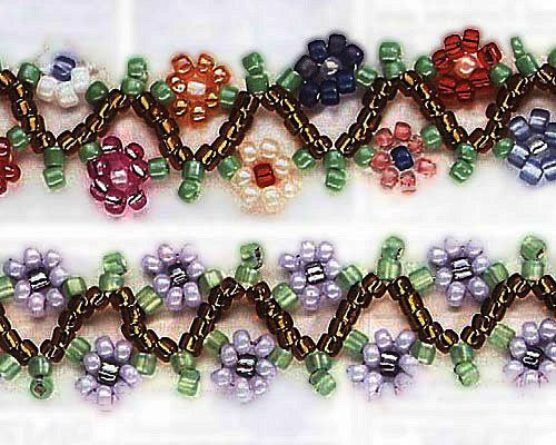 6 Cute Seed Bead Jewelry Projects | Brandywine Jewelry Supply Blog