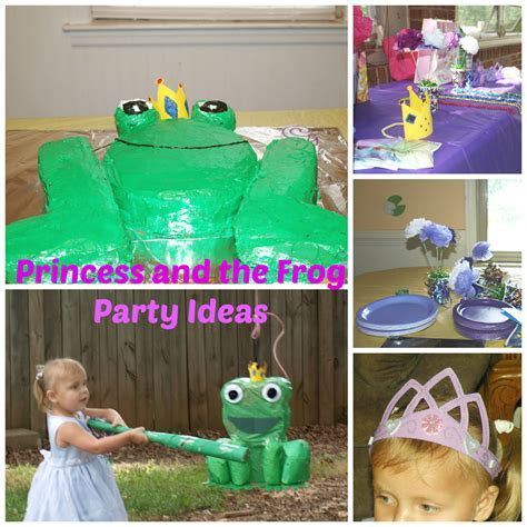 Princess and the Frog Birthday Ideas   Rebecca Autry Creations