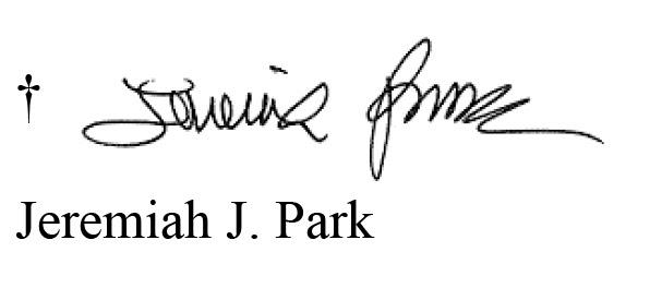 Bishop's Letter Footer