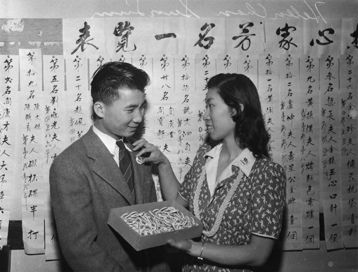 Sino-americanos se rotulavam para não serem confundidos com os nipo-americanos, em 1941