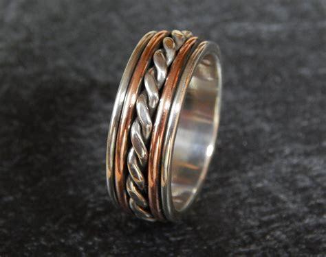 MAJESTIC Silver & Copper or 14k Gold Filled // Men's