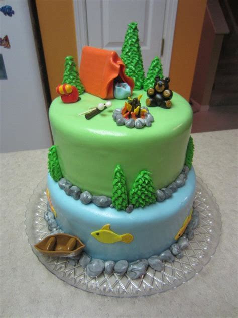 Treats By Christi: Camping Theme Baby Shower