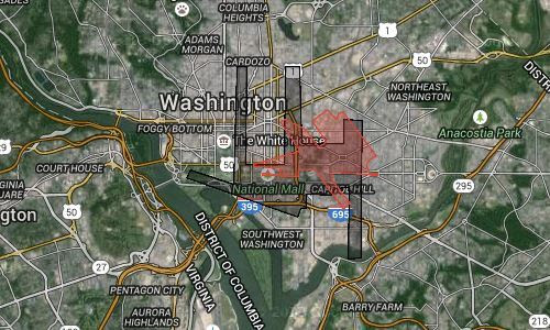 How Big Are Dulles And Bwi Airports These Maps Give You