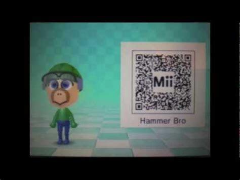 super mario bros mii qr codes youtube