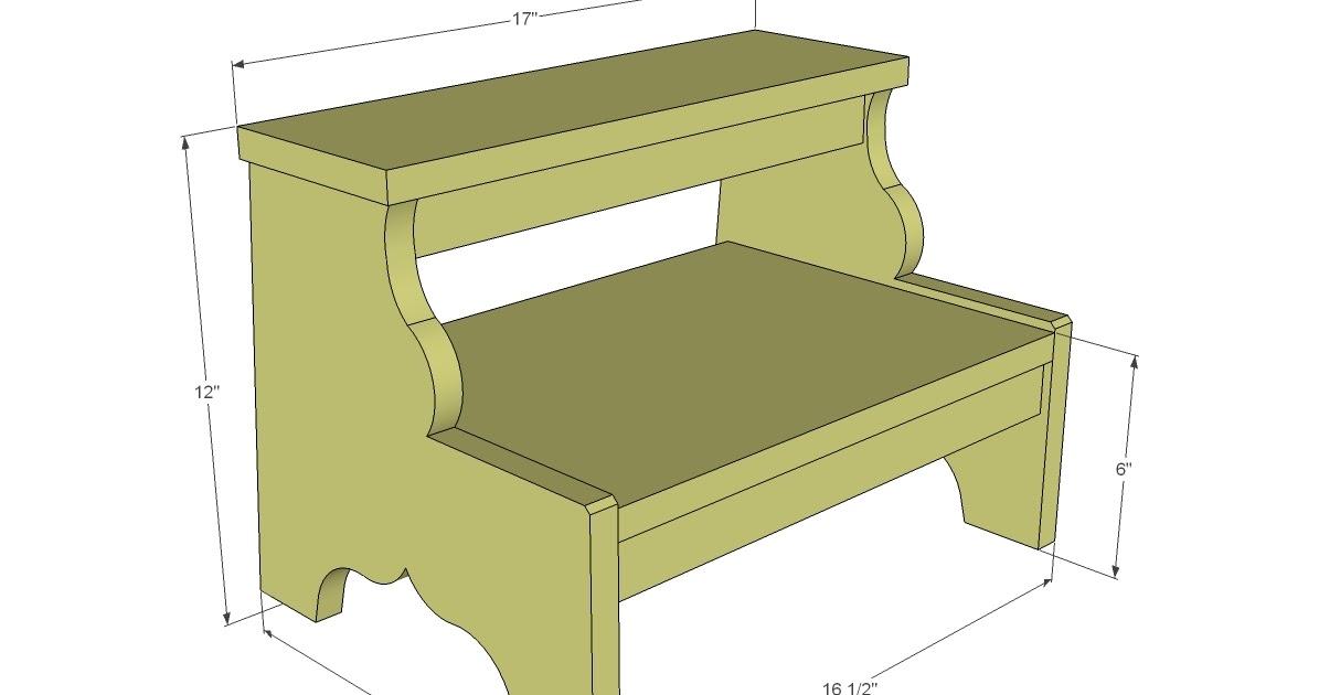 Simple Wood Step Stool Plans Neas Job
