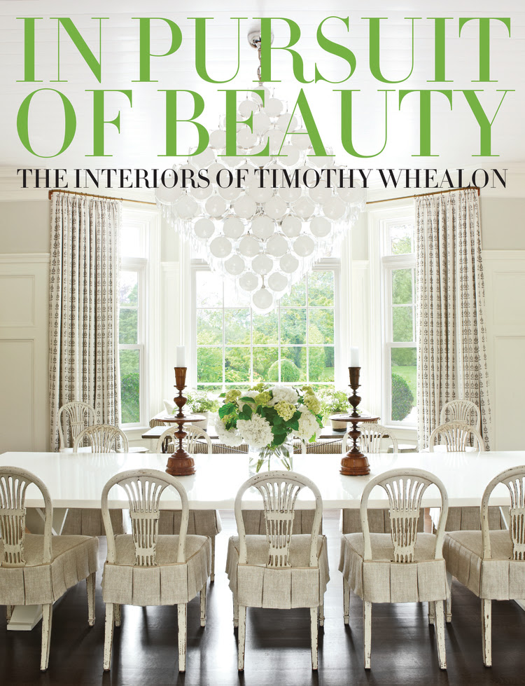 The Pursuit of Beauty, The Interiors of Timothy Whealon. Rizzoli USA.