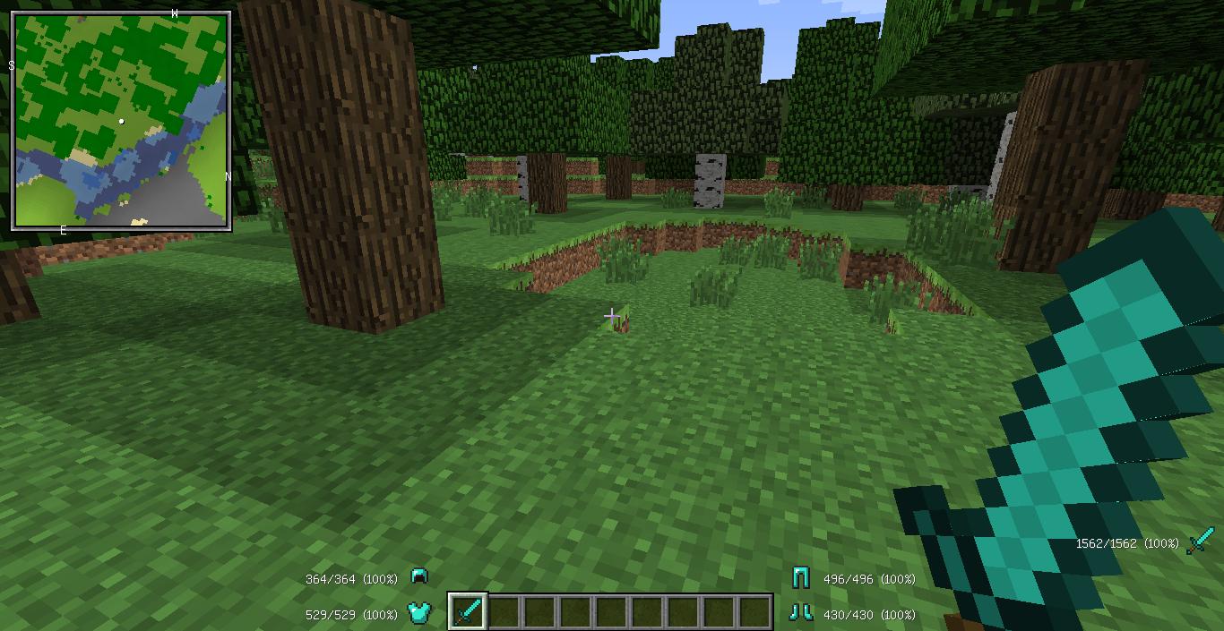 Escadona de LuckyBlock Minecraft Project