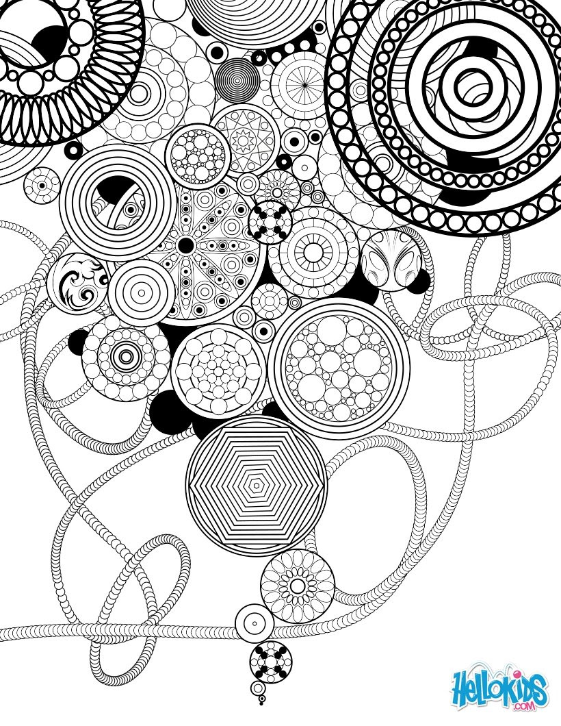 Coloriages Mandala Jardin Secret Frhellokidscom