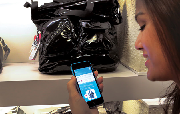 Macy's iBeacon shopping during its trial phase