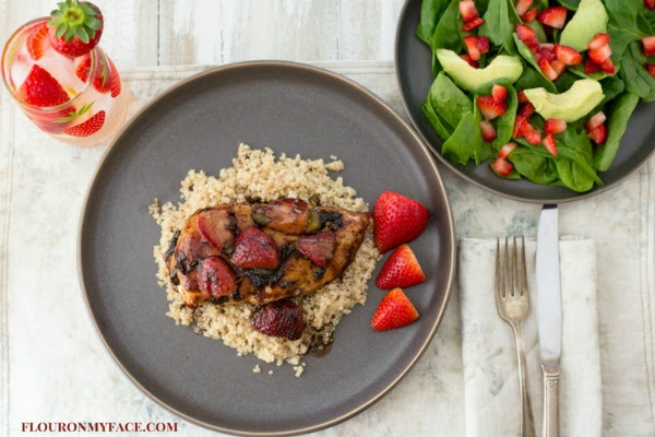 Strawberry Balsamic Chicken recipe