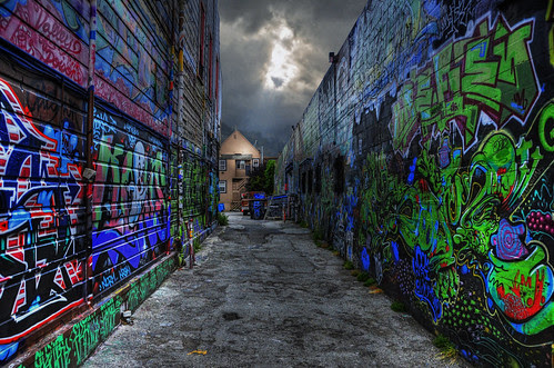 Alley Off The Haight