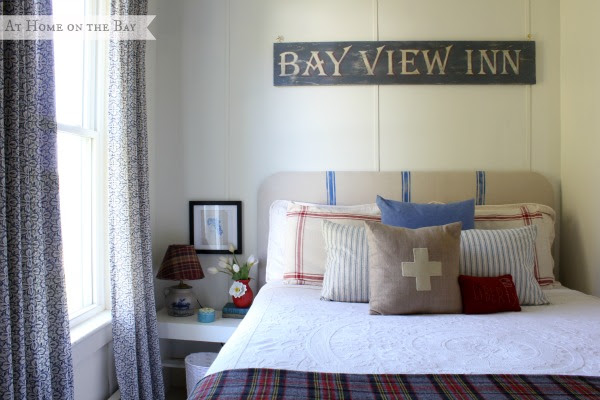 At Home on the Bay guest room