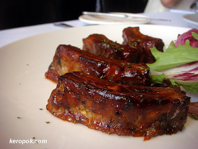Baby Back Pork Ribs - Served 3 ways: Fiery, Alabama and Smoked Hickory BBQ
