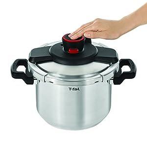 T-fal Pressure Cooker Cookware, 6.3-Quart