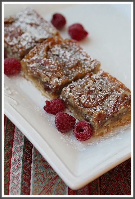 Pecan Butter Tart Bars