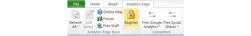 Register Analytics Edge