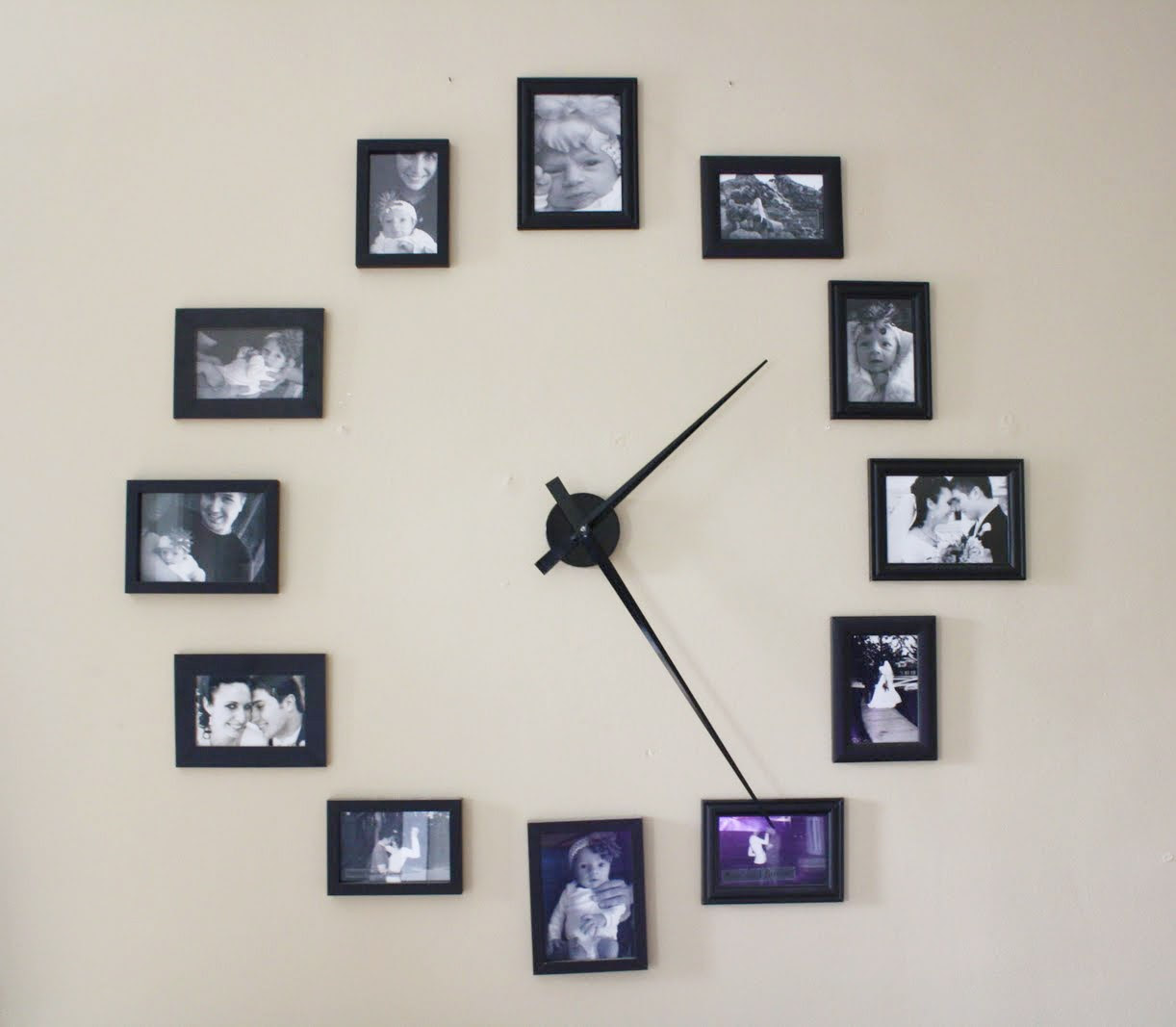 Diy Photo Frame Clock 1mhowtocom