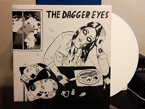 The Dagger Eyes - The Dagger Eyes LP - White Vinyl (/100) by Tim PopKid