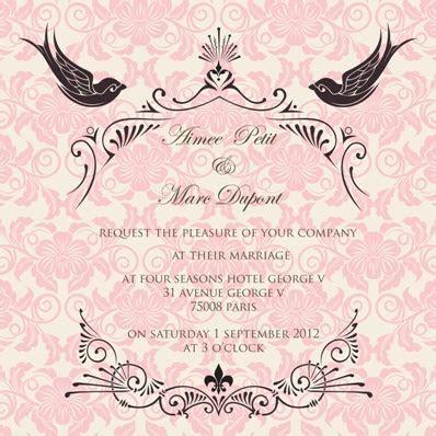 Ananya Cards presents: French Fantasy wedding invites