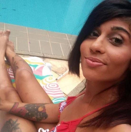 Laryssa da Costa Oliveira, de 19 anos, que usa o pseudônimo Rafa Zaqui