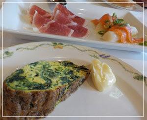 新宿「Amapola」にて、前菜はこんな感じ。