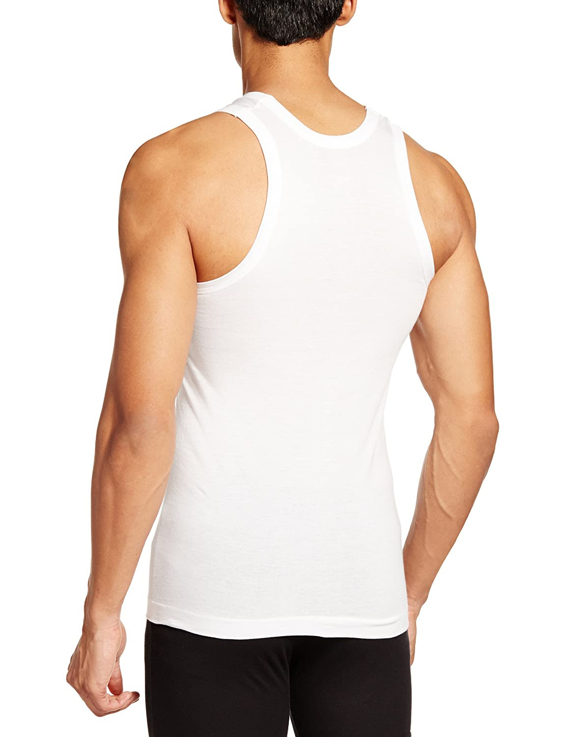 Deals on Rupa Frontline Men's Cotton Vests (Pack of 2)