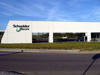Schneider Electric factory in Písek, Czech Rep...