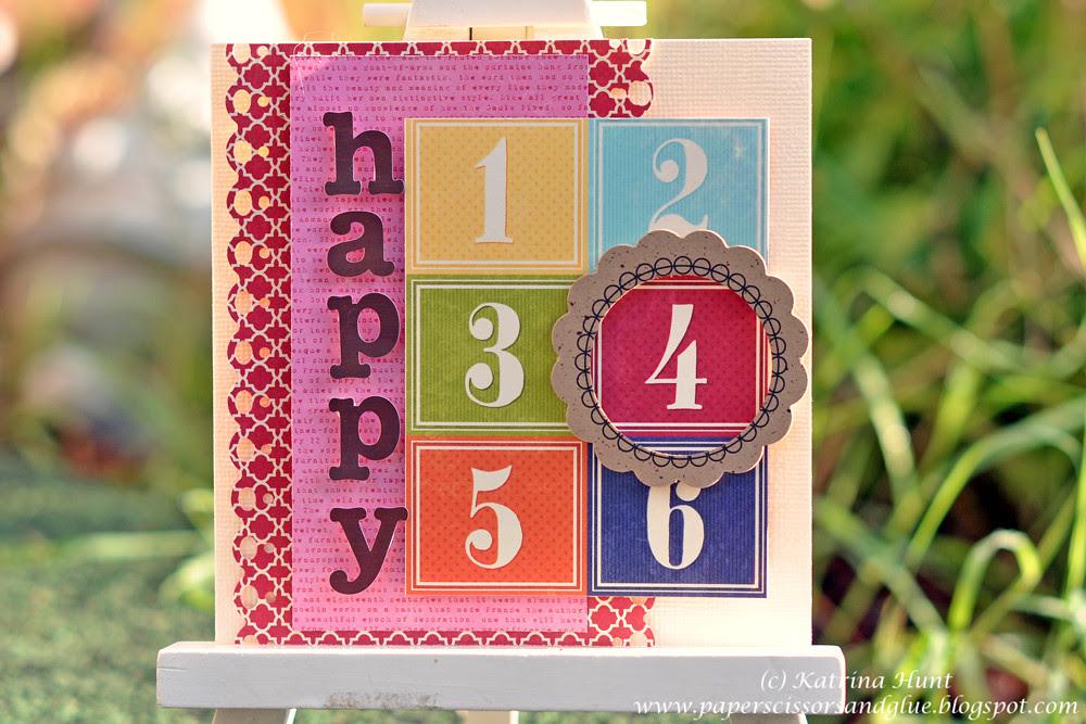 Jillibean Happy 4 Card