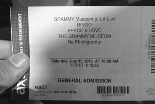 Los Angeles - Grammy Museum tix