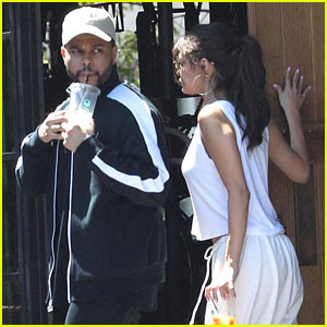 Selena Gomez & The Weeknd Couple Up For Post Birthday Lunch