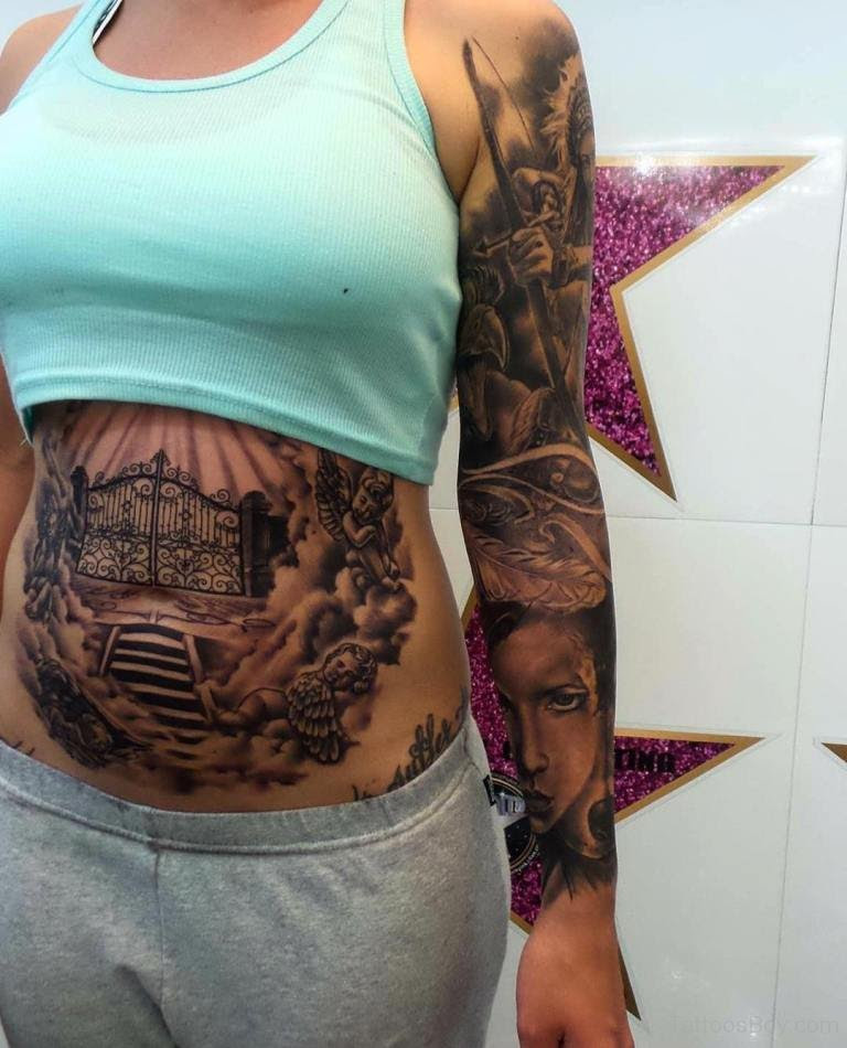 Stomach Tattoos Tattoo Designs Tattoo Pictures