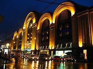 Abasto shopping center. The city's wholesale m...