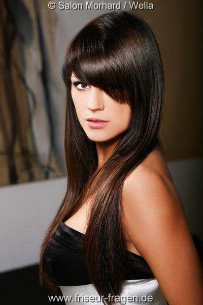Dunkelbraune Haare Kupfer