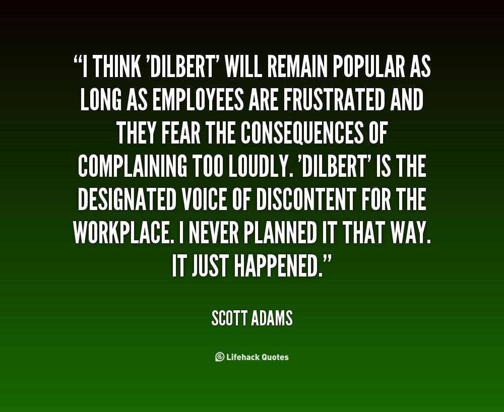 Best Dilbert Quotes. QuotesGram
