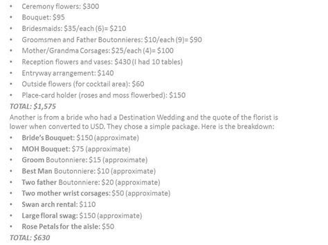 How Much do Flowers for a Wedding Cost?   EverAfterGuide
