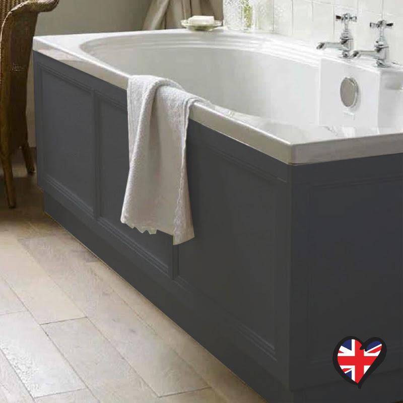 Insolito Carolla 1700 Bath Panel Charcoal Grey Buy Online ...