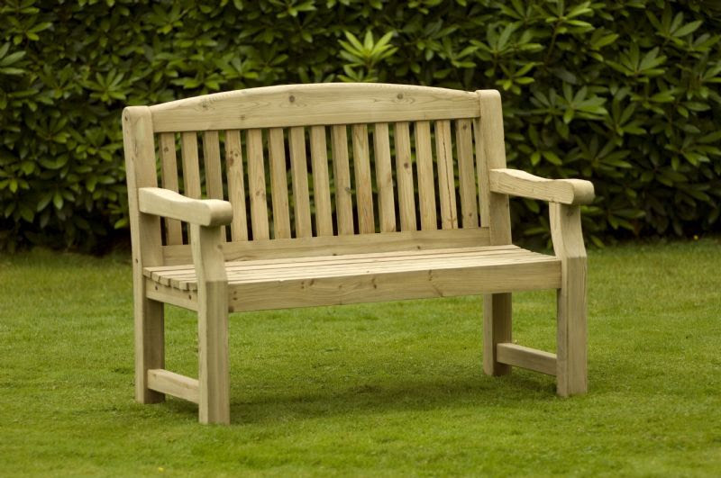 The Bridge Wooden bench - O'Rourke Timber Products ...