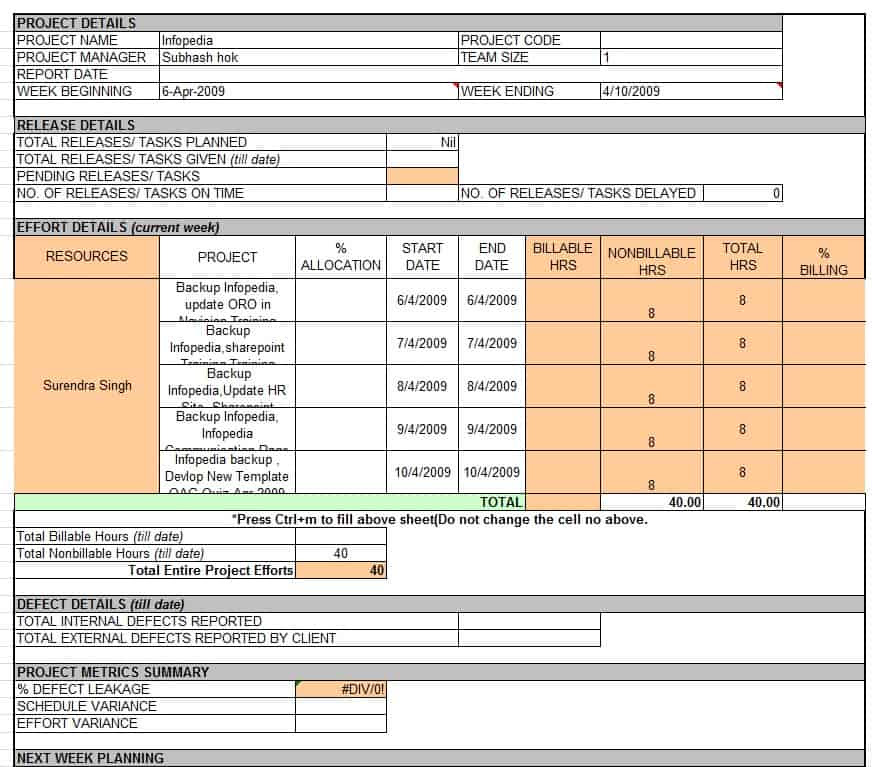 daily collection report format in excel calendar june