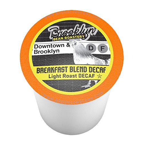 Brooklyn Beans Breakfast Blend Decaf Single-Cup coffee for Keurig K-Cup Brewers 40 Count