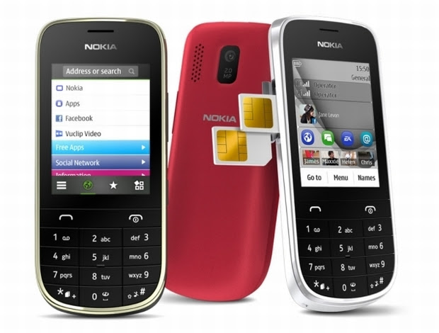 Nokia Asha 202 e 203 (Foto: Reprodução)