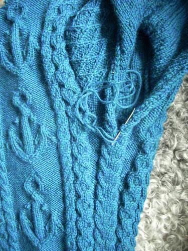 """Mystic"" sweater progress by Asplund"