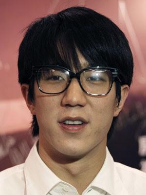 O ator e cantor Jaycee Chan, filho de Jackie Chan, em foto de 14 de junho de 2010 (Foto: Vincent Yu/AP/Arquivo)